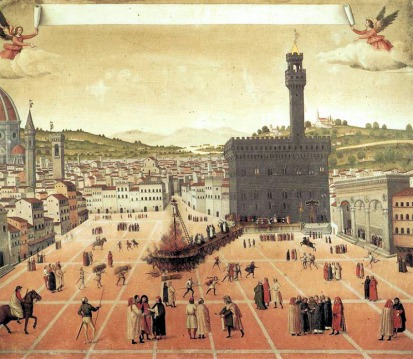 Ejecución de Girolamo Savonarola