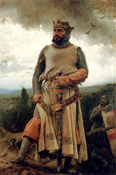 Retrato de Alfonso I, por Francisco Pradilla, 1879