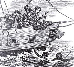 Sklavenschiffe Hölle Auf See