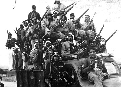 Voluntarios árabes