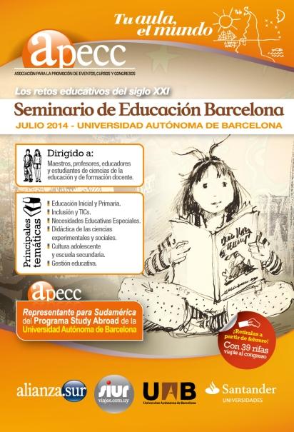 volante Seminario educacion 2014-01