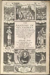 The Anatomy of Melancholy, 1628