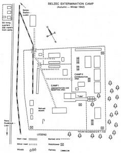 Reproducido de Yitzhak Arad, Belzec, Sobibor, Treblinka: The Operation Reinhard Death Camps (Indiana University Press, 1999).