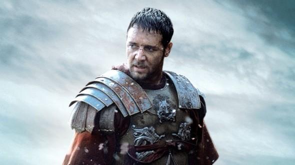 """Russell Crowe en """"Gladiator"""""""