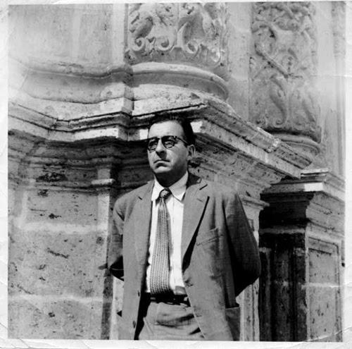 Julio Castro, en la Catedral, México D.F