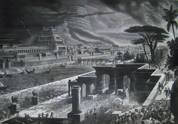 Babilonia tomada por Ciro