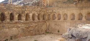 Apodyterium de las termas de Bílbilis (Calatayud)