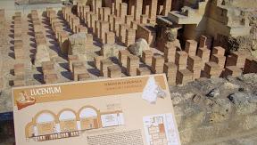 Hipocausto de las termas de la muralla de Lucentum (Alicante)