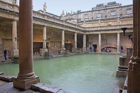 Natatio y Labra de las termas de Bath (Inglaterra)