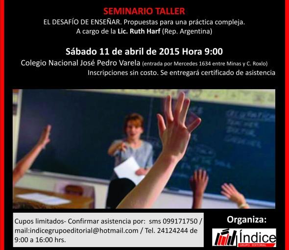 El desafio de enseñar taller (3)