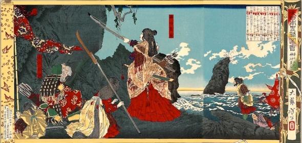 La emperatriz en Corea (pintura de 1880)