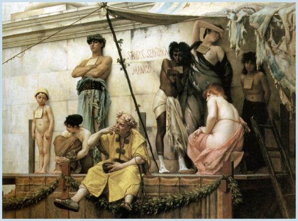 Mercado de esclavos (1888) – Gustave Boulanger