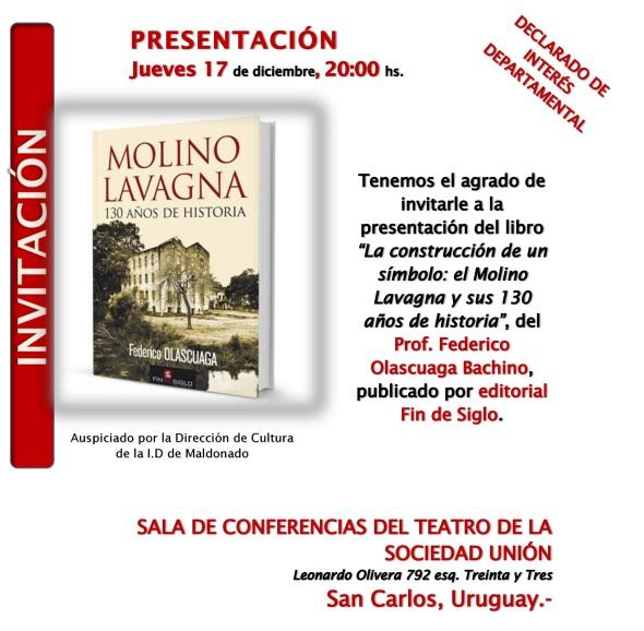 Invitación Lanzamiento libro 17 dic De Cerca