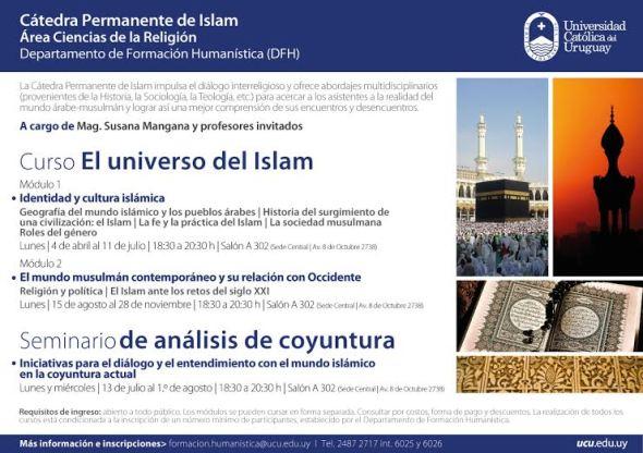 AFICHE CURSO UNIVERSO ISLAM