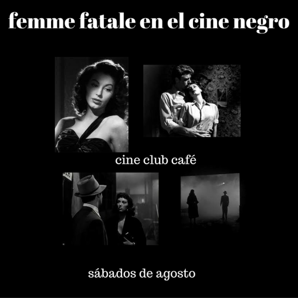 Femme fatale en el cine negro
