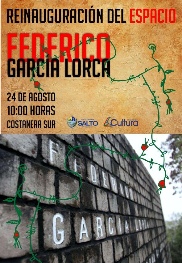 REINAUGURACIÓN ESPACIO FEDERICO GARCÍA LORCA